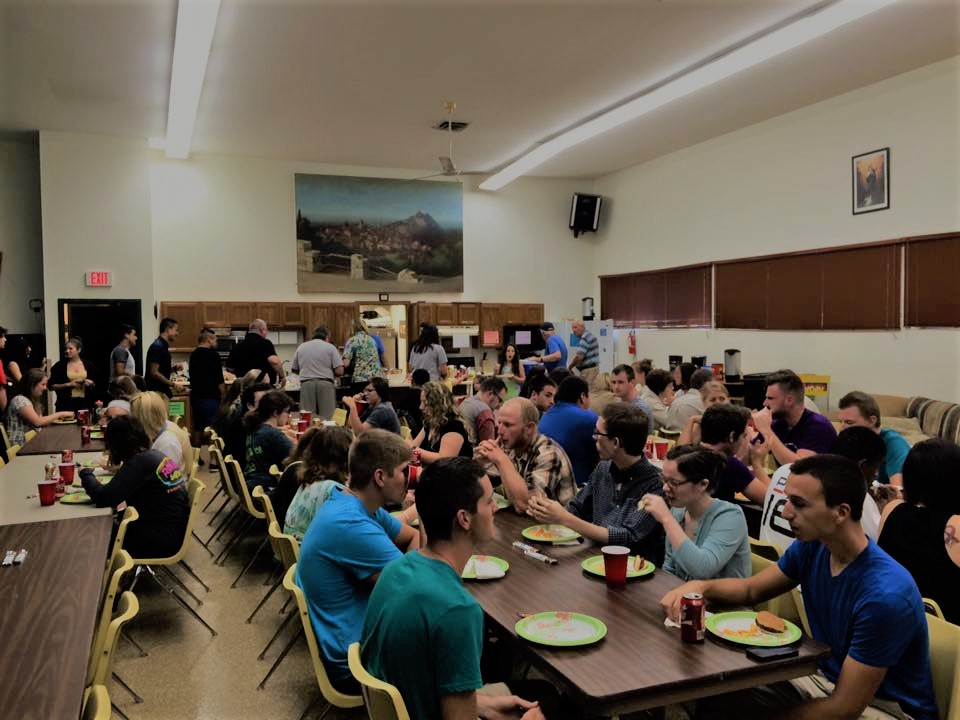 photo of Welcome back dinner 2016